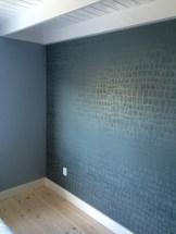 Behang schilderen slaapkamer 2