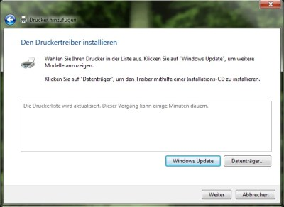 Windows Update warten
