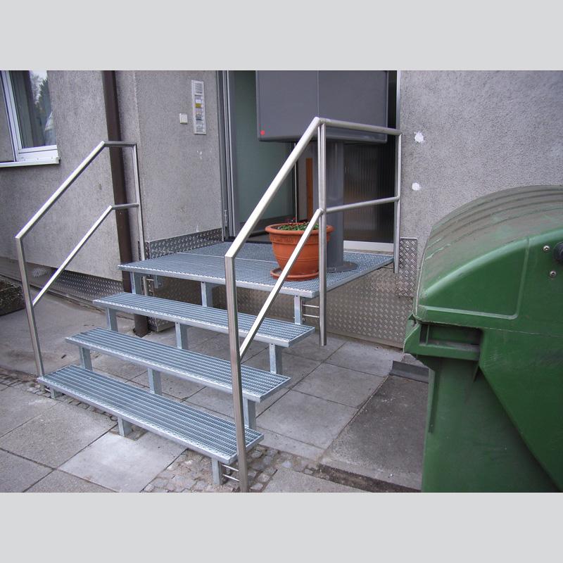 treppen aussentreppen metallbau strobel gmbh in filderstadt. Black Bedroom Furniture Sets. Home Design Ideas