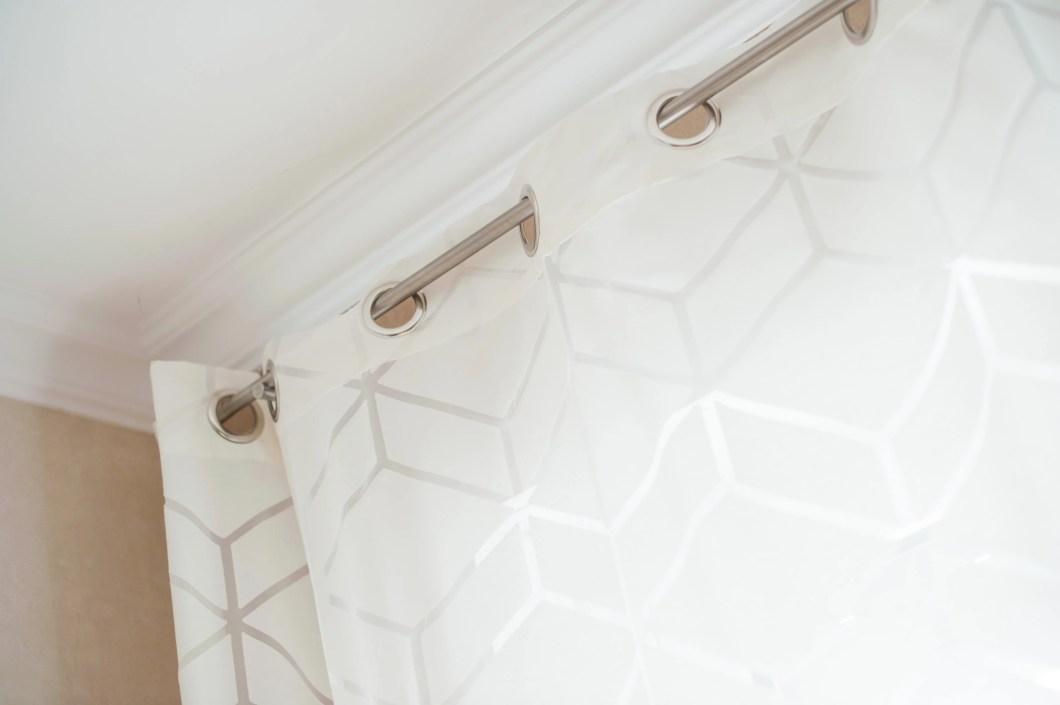 Geometrische Dekoration Gardinen