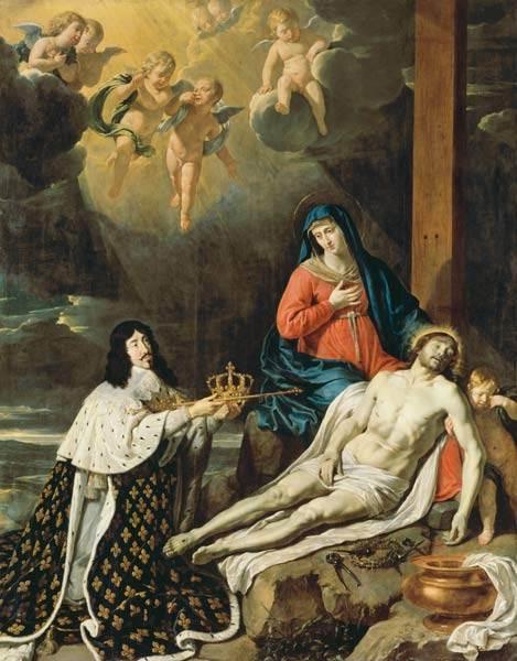Le vœu de Louis XIII par Philippe de Champaigne