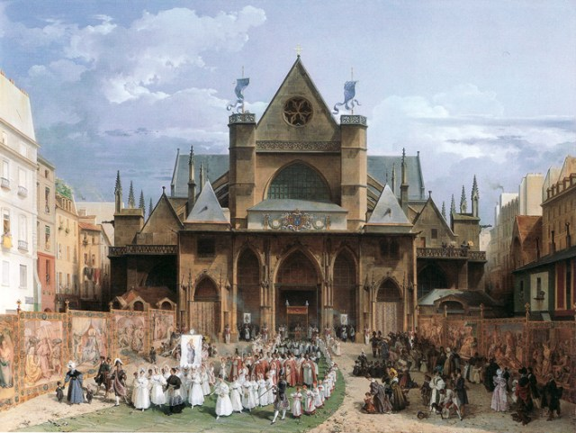 Fete-Dieu a Paris 1830