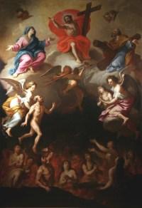 Antoni Guerra le Jeune (1666 † 1711) - Les Ames du Purgatoire, 1709