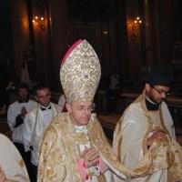Vêpres pontificales à la Trinité des Pèlerins