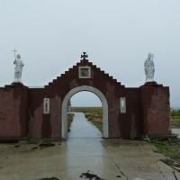 L'entrée du Monastère du Golgotha