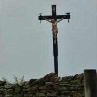 L'une des croix sur l'île