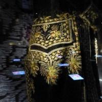 """Exposition au musée de la Visitation de Moulins : """"Sacrées soieries, étoffes précieuses à la Visitation""""."""