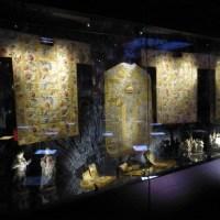 Dalmatiques : Lampas argent aux fougères d'or. Lyon, milieu du XVIIIème