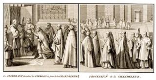 Programme de la fête de la Purification de la Sainte Vierge au Temple