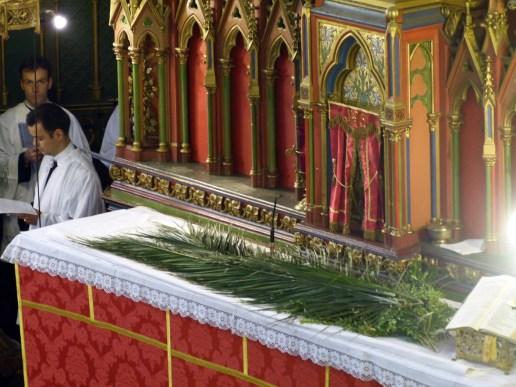 Rameaux 2014 - 5 - bénédiction des palmes