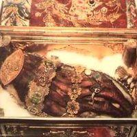Reliquaire de la main gauche de sainte Catherine, conservé au Monastère du Sinaï
