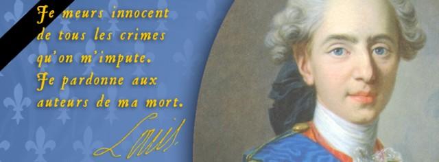 Programme de la messe solennelle de Requiem pour Louis XVI
