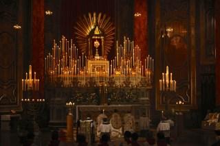 Les Quarante Heures à l'Oratoire de Londres