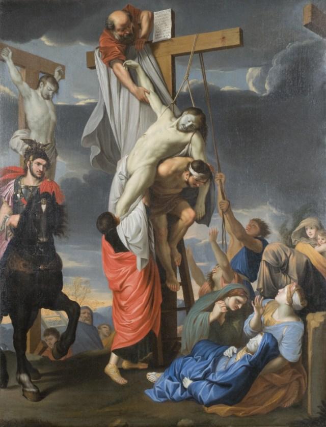 La Descente de Croix - d'après Charles Le Brun - XVIIème siècle