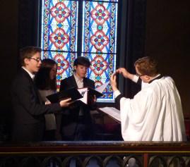 Rameaux 2015 - 28 - Miserere d'Allegri à la communion - le chœur des enfants