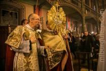 16-Messe d'exposition des Quarante-Heures - procession du Saint Sacrement