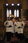 24-Messe de reposition des Quarante-Heures coram Sanctissomo - procession du Saint Sacrement