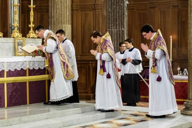 Second dimanche de Carême 2016 - collégiale Saint-Just de Lyon.