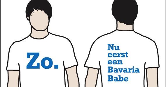 Zo, nu eerst een Bavaria