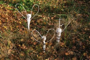 Herbstfeen im Lesegarten
