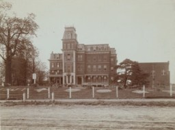 Female Hospital, formerly known as the Social Evils Hospital, where prostitutes went for medical inspections when prostitution was legal in St. Louis in the 1870s.