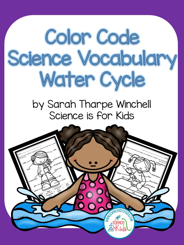 Teaching Water Cycle Vocabulary ~ I Teach Second Linky