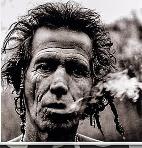 Keith Richards is perhaps the ultimate survivor (Image: http://creekmoreworld.com)