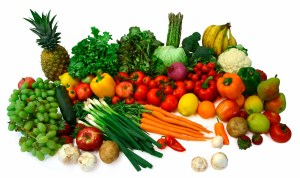 Fresh Fruit and Vegetables. https://runthreeseven.wordpress.com/2011/04/17/organic-fruit-and-vegetables-whats-the-difference/