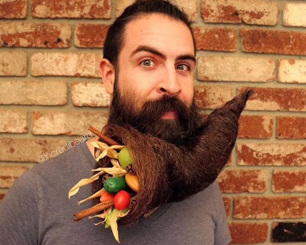 What is really in a beard? (Image: theawesomedaily.com)