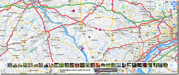 Map of Lancaster County Photos