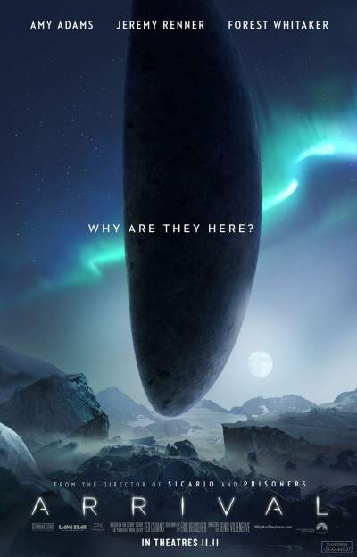 Arrival Movie poster - Arrival Movie Image Gallery