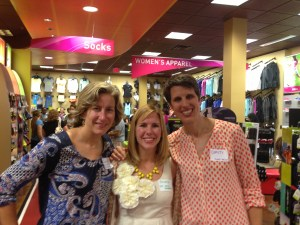 Retired Chick Brooke (center) with Sarah Bowen Shea & Dimity McDowell 3/2014