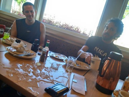 Shattered glass at breakfast: bad omen or bad ass?