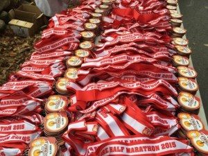 Lots and lots of medals. They're so pretty!