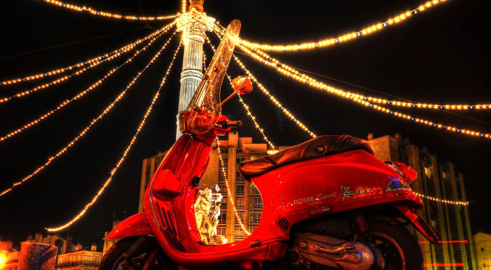 Holiday Scooter