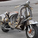 The Guardian - A Custom Vespa by Cris Cofitis