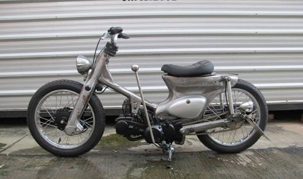 Custom Honda Cub From K Speed In Thailand Scooterfile