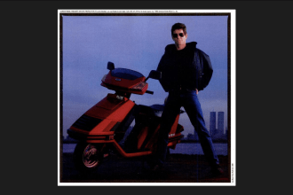 Lou Reed for Honda Scooters