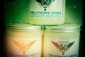Two-Stroke-Smoke-Candle