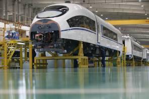 Chinese High Speed Rail Train