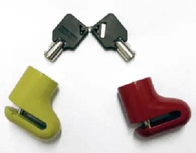 Vespa PX Disc Lock
