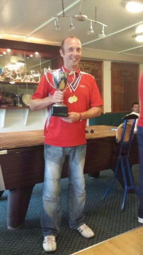 Robbie Stronach - 2013 SPA SIngles Winner & 2013 SPA Shooting Joint Winner