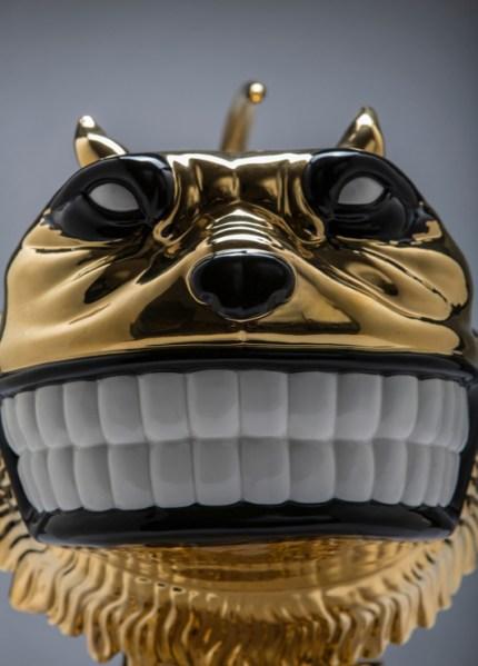 Scott Musgrove - Booted Glamour Cat -Ceramic 4