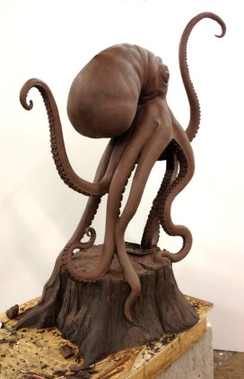 Scott Musgrove - Walktopus Back Clay