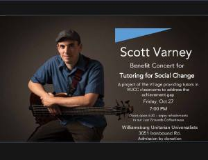 Benefit Concert @ Williamsburg Unitarian Universalists | Williamsburg | Virginia | United States