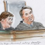 "A ""view"" from the courtroom: Justice Kavanaugh takes the bench"