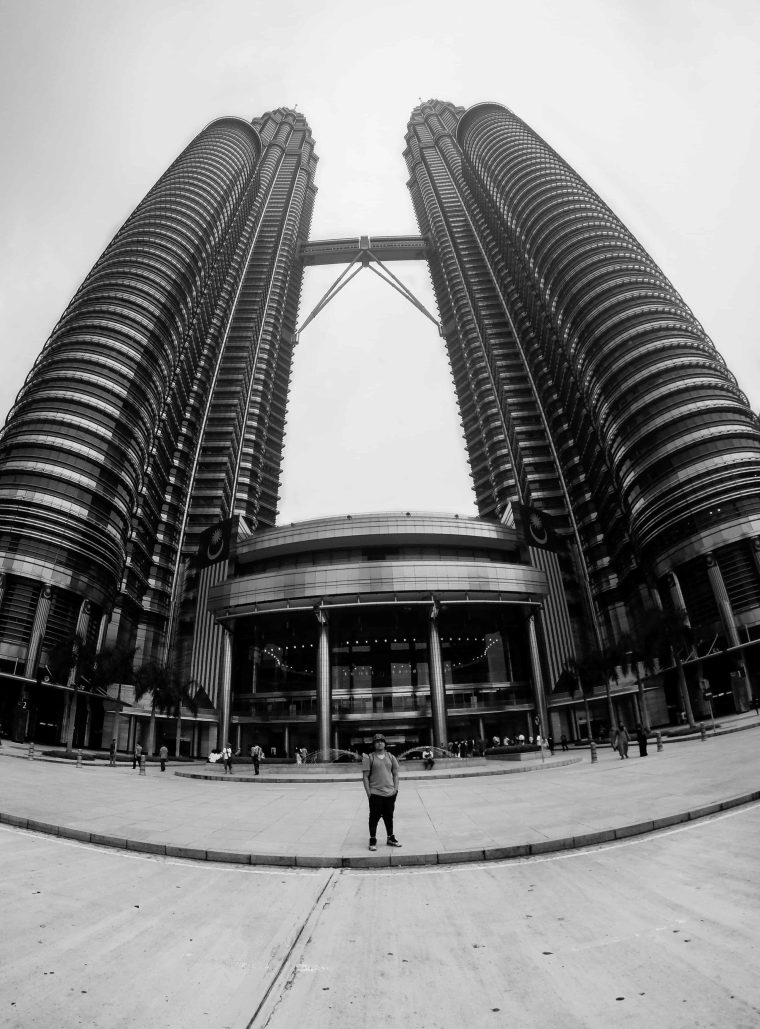 Arvin from Scrambled Chefs at Petronas Twin Towers Malaysia