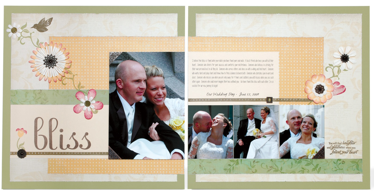 dream wedding scrapbook ideas 18 photo wedding scrapbook 2 Wedding Scrapbooking