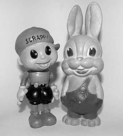 Scrappy and Oswald