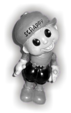 Scrappy doll